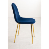 Glamm Velvet Chair , thumbnail image 3