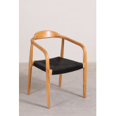 Yeff Paper Rope Dining Chair, thumbnail image 2