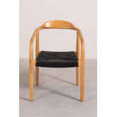 Yeff Paper Rope Dining Chair, thumbnail image 4