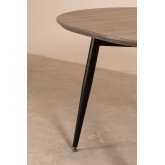 Horus Wood & Stainless Steel Extensible Dining Table (120 cm - 180 cm) , thumbnail image 776178