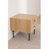 Bedside table in MDF Cialu, thumbnail image 3