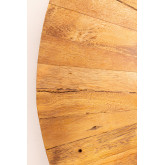 Round Wall Mirror in Recycled Wood (Ø100 cm) Rand, thumbnail image 5