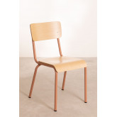 Chair in MDF and Steel Shatys, thumbnail image 2