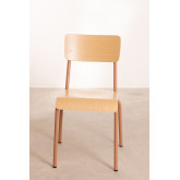 Chair in MDF and Steel Shatys, thumbnail image 3
