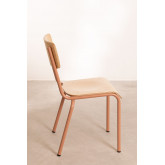 Chair in MDF and Steel Shatys, thumbnail image 4
