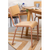 Chair in MDF and Steel Shatys, thumbnail image 1