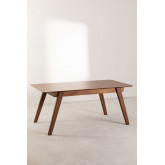 Extendable Walnut Dining Table (150-180x90 cm) Aliz, thumbnail image 3