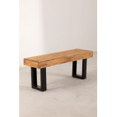 Recycled Wood Bench Bech, thumbnail image 2