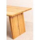 Rectangular Wooden Dining Table (210x100 cm) Enok, thumbnail image 784615