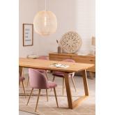 Rectangular Wooden Dining Table (220x95 cm) Neros, thumbnail image 784687