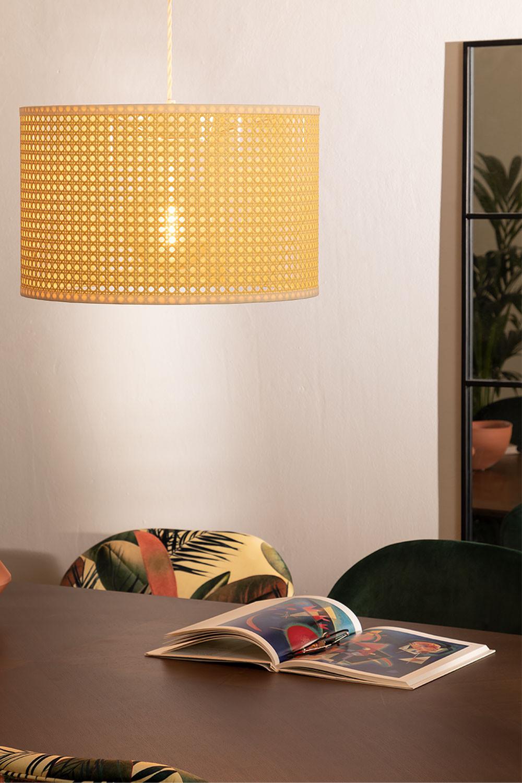 Ceiling Lamp in Rattan Sety, gallery image 1