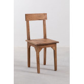 Vignet Recycled Wood Chair, thumbnail image 1