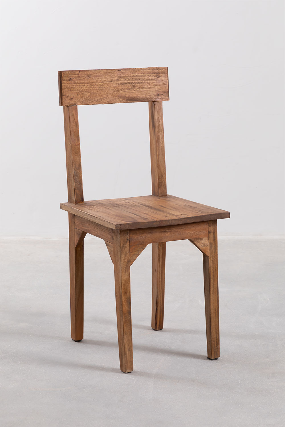 Vignet Recycled Wood Chair, gallery image 1