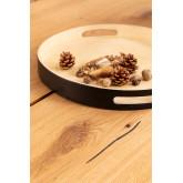 Rectangular Wooden Dining Table (210x100 cm) Enok, thumbnail image 786150