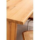 Rectangular Wooden Dining Table (210x100 cm) Enok, thumbnail image 786156