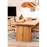 Rectangular Wooden Dining Table (210x100 cm) Enok, thumbnail image 786162