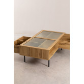 Coffee Table in MDF and Ipek Glass, thumbnail image 3