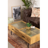Coffee Table in MDF and Ipek Glass, thumbnail image 1