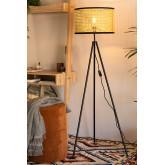 Metal &  Ratan Floor Lamp Elias , thumbnail image 2