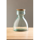 Madox Clear Recycled Glass Jar, thumbnail image 2