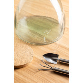 Madox Clear Recycled Glass Jar, thumbnail image 3