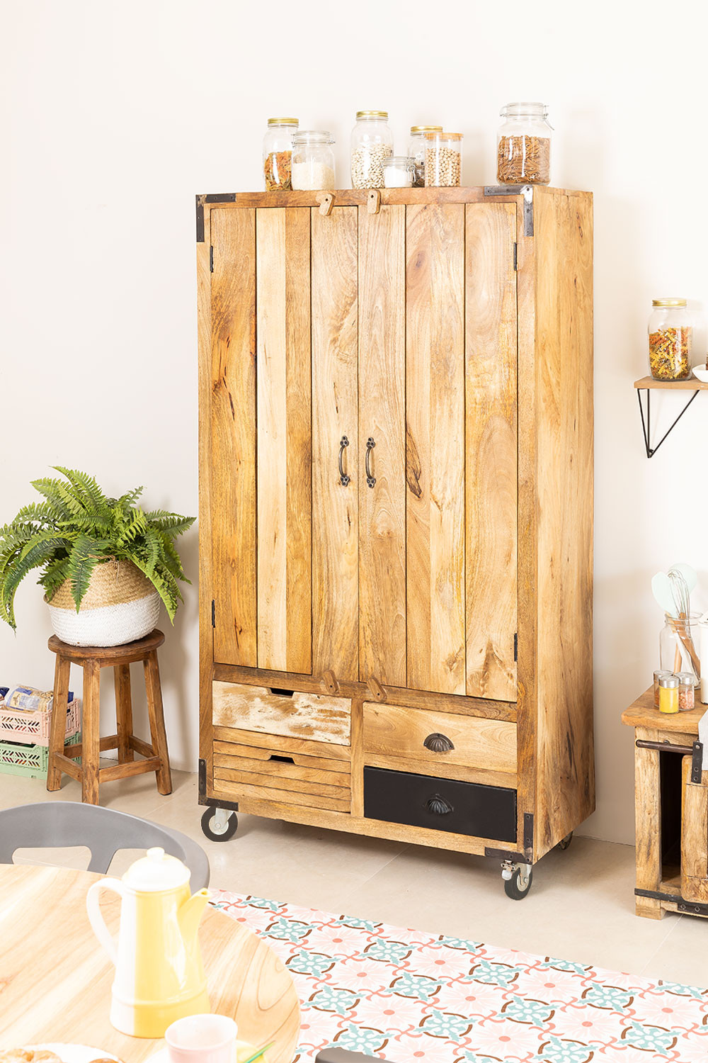 WoodEN Bar Cabinet Tombol , gallery image 1