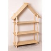 Zita Kids Shelf with 3 Wood Shelves, thumbnail image 2