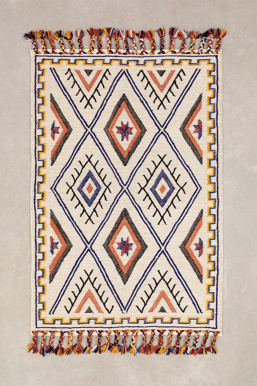 Wool and Cotton Rug (205x140 cm) Nango, gallery image 1