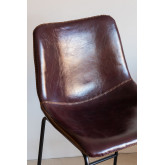 Medium Leatherette Stool Ody, thumbnail image 6