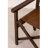 Leather Director´s Chair Madeo , thumbnail image 6
