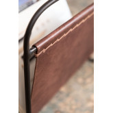 Leather Magazine Rack Cayna, thumbnail image 5