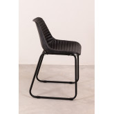 Zekal Leather Dining Chair, thumbnail image 4