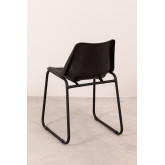 Zekal Leather Dining Chair, thumbnail image 5