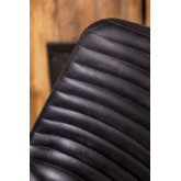 Zekal Leather Dining Chair, thumbnail image 6