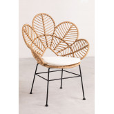 Rinum Synthetic Wicker Armchair, thumbnail image 2