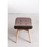 Velvet Upholstered Footstool Morris Edition, thumbnail image 3