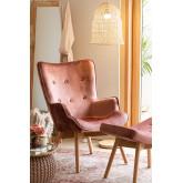 Armchair Upholstered in Velvet Morris Edition , thumbnail image 1