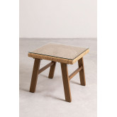 Gerder Synthetic Wicker Coffee Table, thumbnail image 2