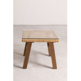 Gerder Synthetic Wicker Coffee Table, thumbnail image 3