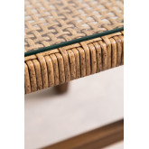 Gerder Synthetic Wicker Coffee Table, thumbnail image 6