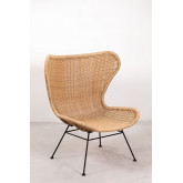 Isdra Synthetic Wicker Armchair, thumbnail image 2