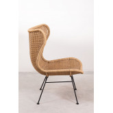 Isdra Synthetic Wicker Armchair, thumbnail image 3