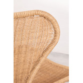 Isdra Synthetic Wicker Armchair, thumbnail image 5