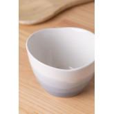 Pack of 4 Bowls in Porcelain Sea Ø9 cm, thumbnail image 2