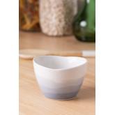 Pack of 4 Bowls in Porcelain Sea Ø9 cm, thumbnail image 1