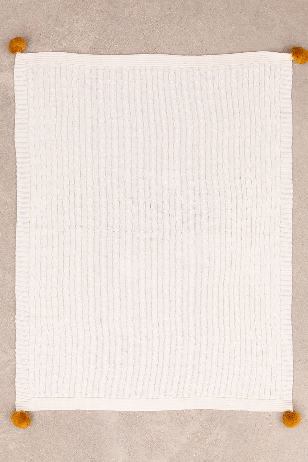 Braided Cotton Swaddle Benys Kids, gallery image 1