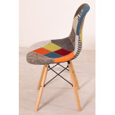 Upholstered Patchwork Scand SK Dining Chair, thumbnail image 808418