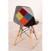 Upholstered Patchwork Scand SK Dining Chair, thumbnail image 808423