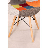 Upholstered Patchwork Scand SK Dining Chair, thumbnail image 808426