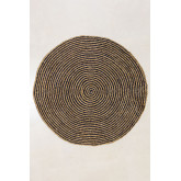 Round Natural Jute Rug (Ø150 cm) Font, thumbnail image 2